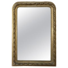 French Gilded Mirror, 19th Century Louis Philippe Period
