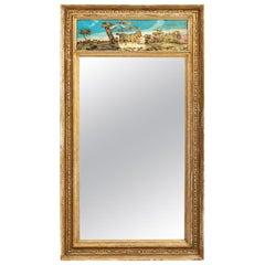 French Gilt Gesso Mirror