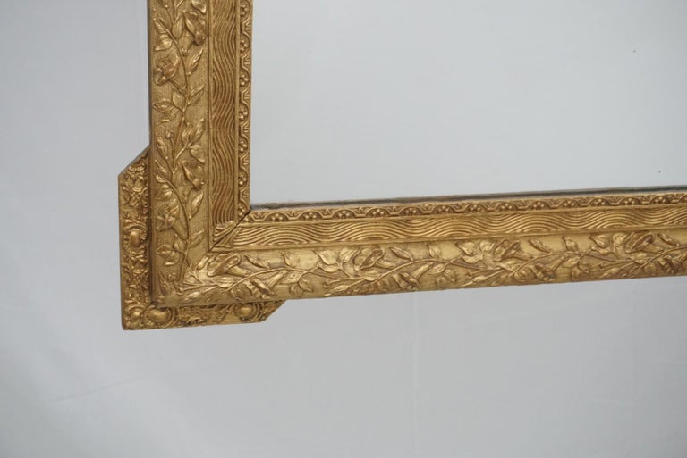 French Gilt Mirror In Excellent Condition For Sale In Dallas, TX