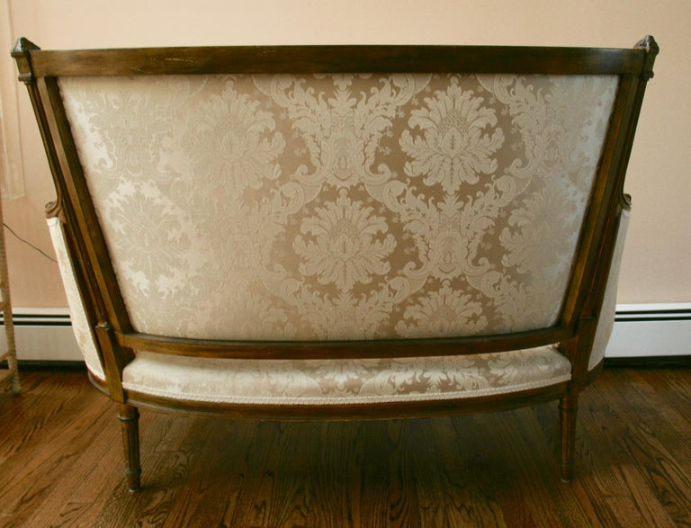 French Giltwood Sofa Settee For Sale 1