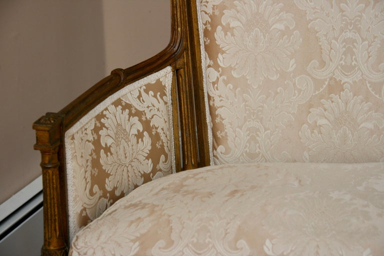 French Giltwood Sofa Settee For Sale 2