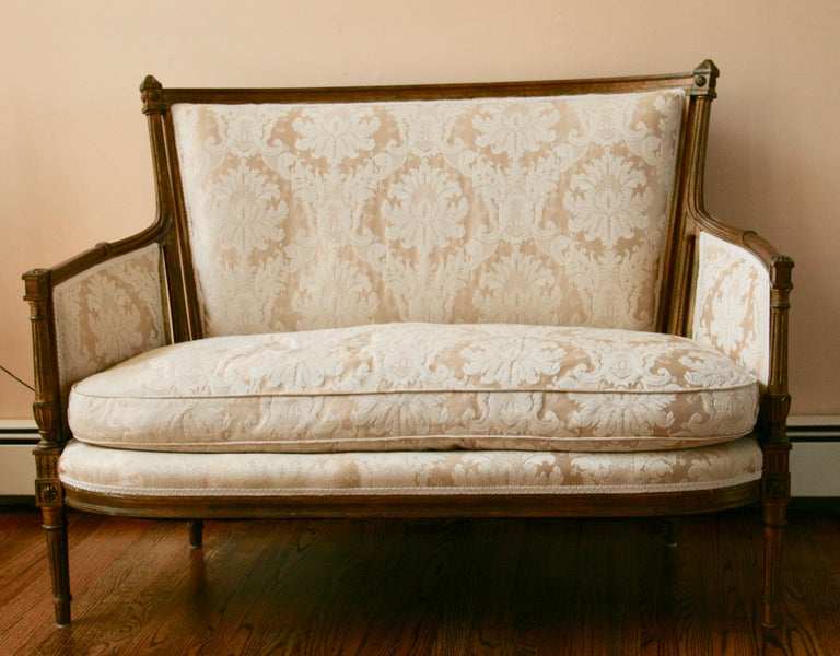 French Giltwood Sofa Settee For Sale 3