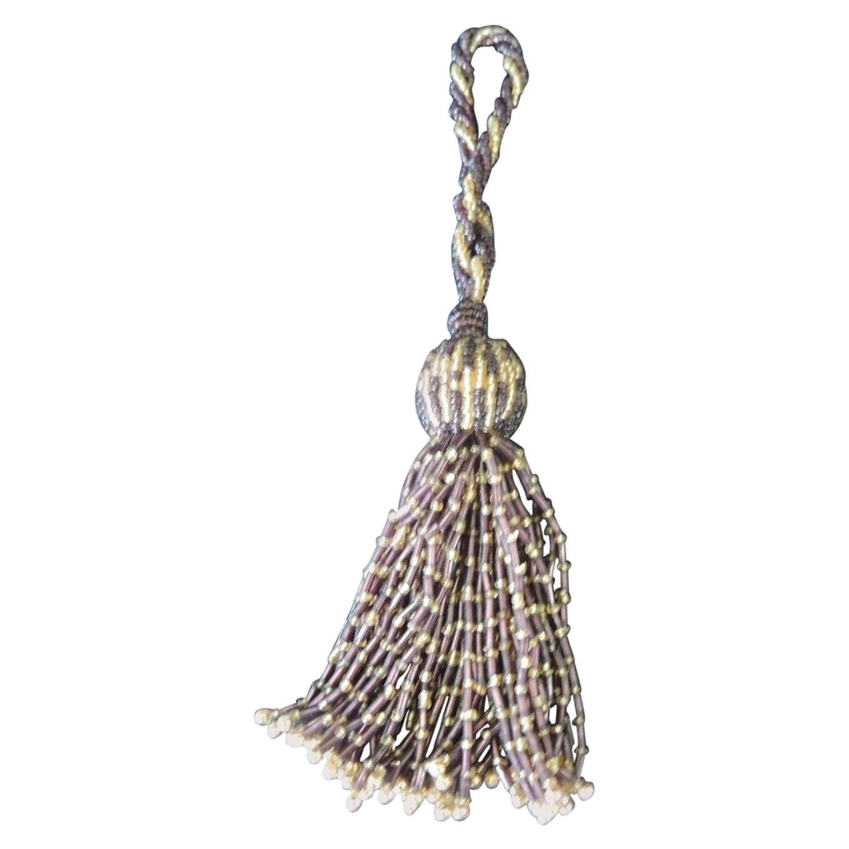 French Glass Beads Decorative Tassel