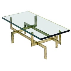 The Jamb French Glass Deco Style Coffee Table