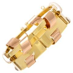 French Gold Bracelet