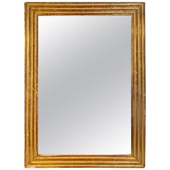 French Gold Gilt Bistro Mirror