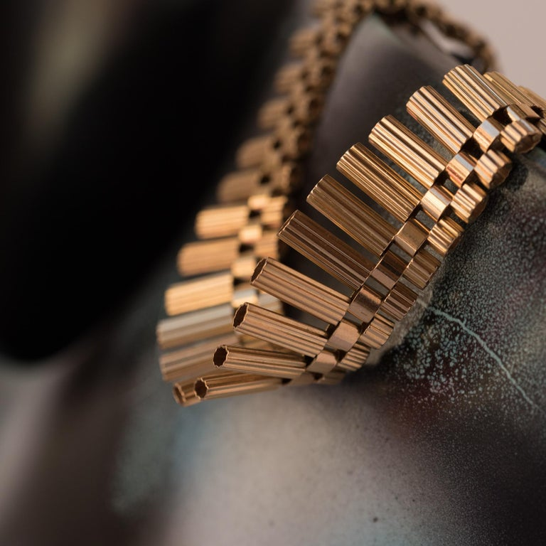 French Gold necklace In Excellent Condition For Sale In Poitiers, FR