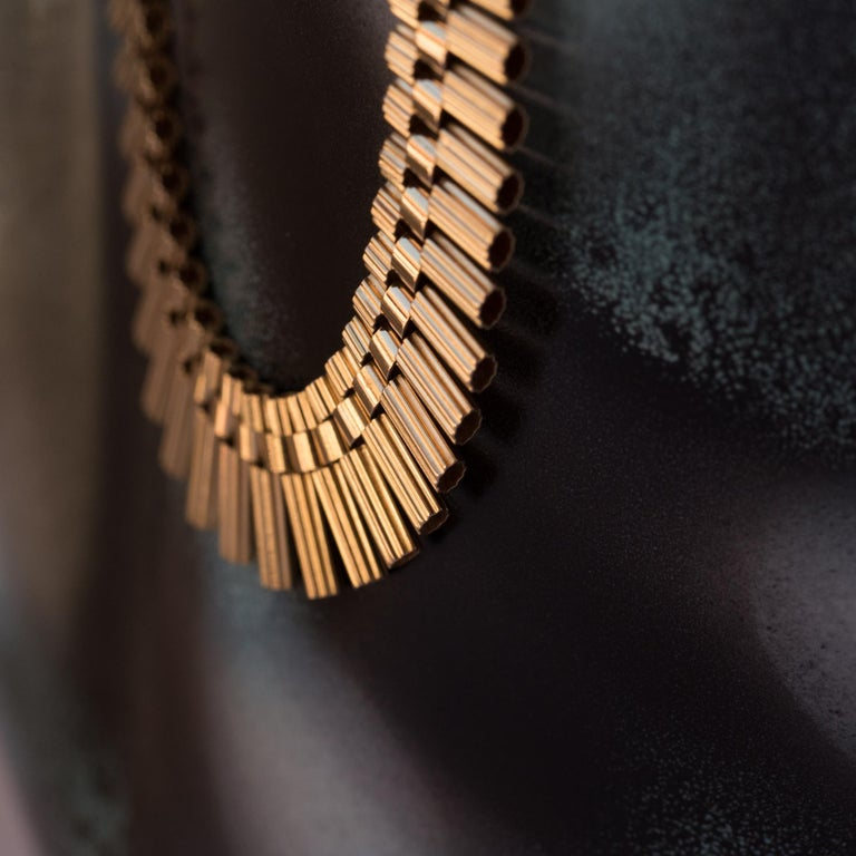 French Gold necklace For Sale 2