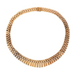 French Gold necklace