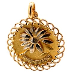 French Gold Passionnement Charm