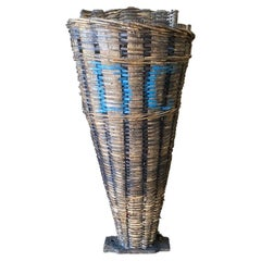 French Grape Picking Basket from the 19th Century