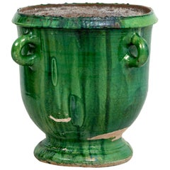 French Green Painted Jardinière