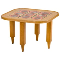 French Guillerme et Chambron Coffee Table, circa 1970