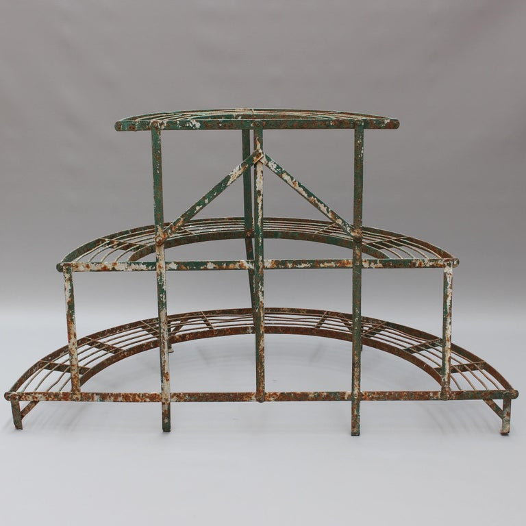French Half-Moon Plant Stand, circa 1900-1920 For Sale 2