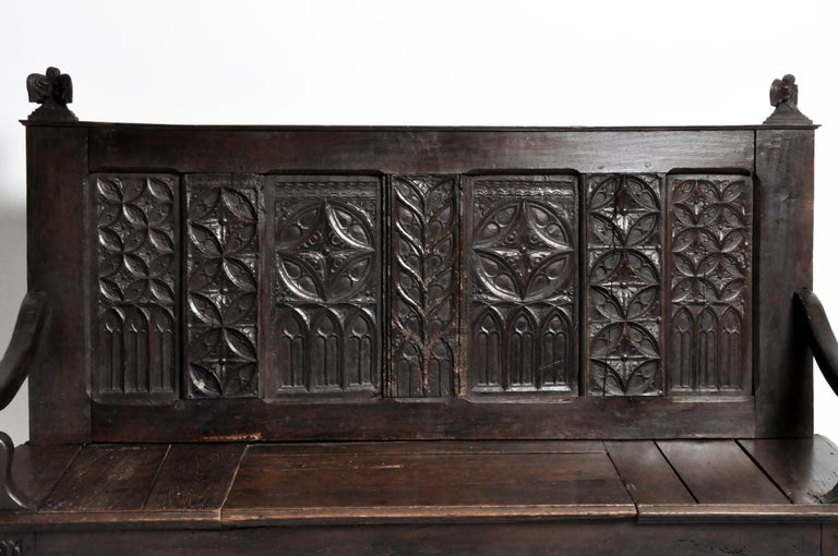 18th Century and Earlier French Hall Bench For Sale