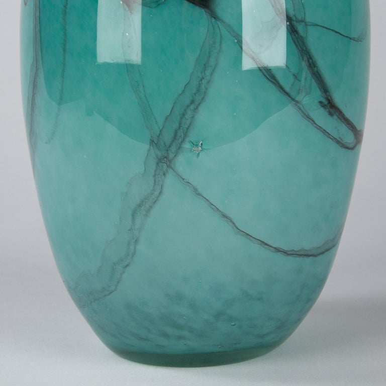 French Handblown Glass Vase, Early 21st Century For Sale 3