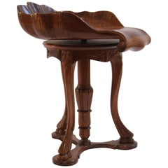French Harpist Stool, Napoleon III