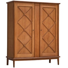 French Highboard in Oak