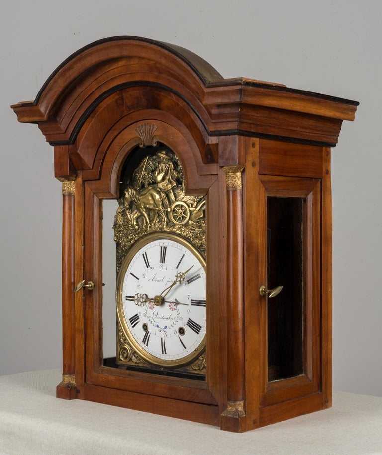 French Horloge de Parquet or Tall Case Clock For Sale 4