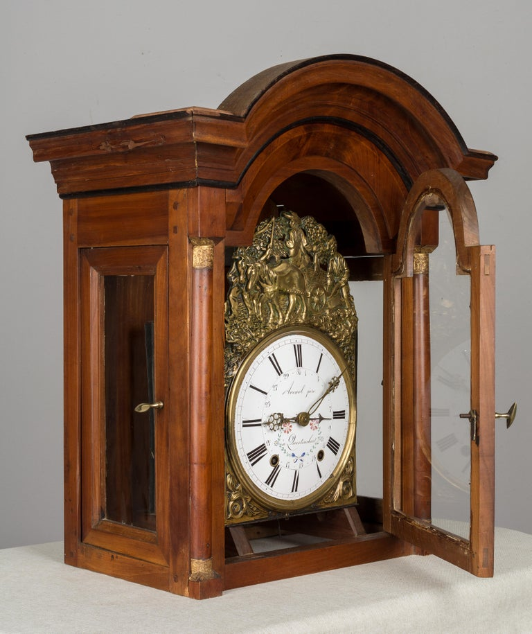 French Horloge de Parquet or Tall Case Clock For Sale 5