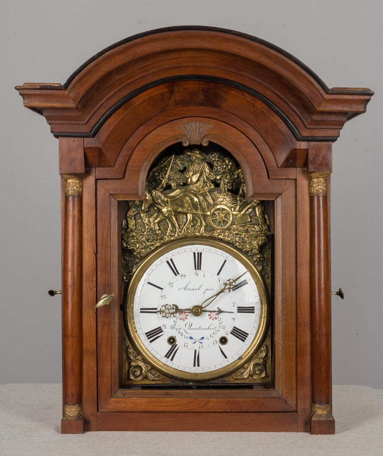 French Horloge de Parquet or Tall Case Clock For Sale 2