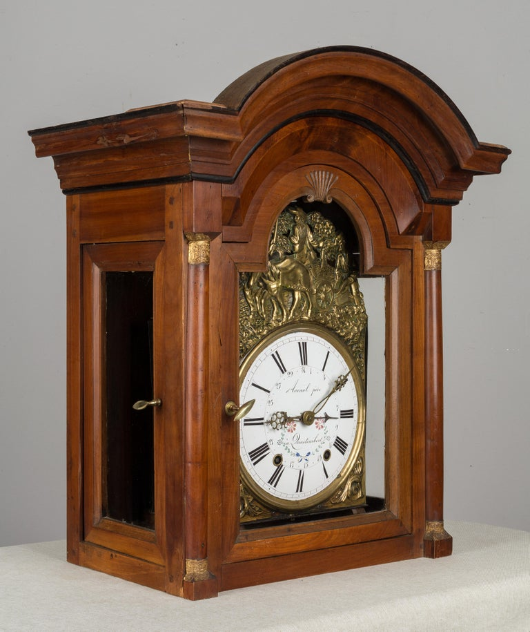 French Horloge de Parquet or Tall Case Clock For Sale 3