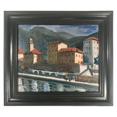 French Impressionist Fauvist Oil Painting by Paul Lucien Maze