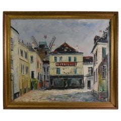 French Impressionist Oil Impressionist Painting by Charles Feola Paris Scene