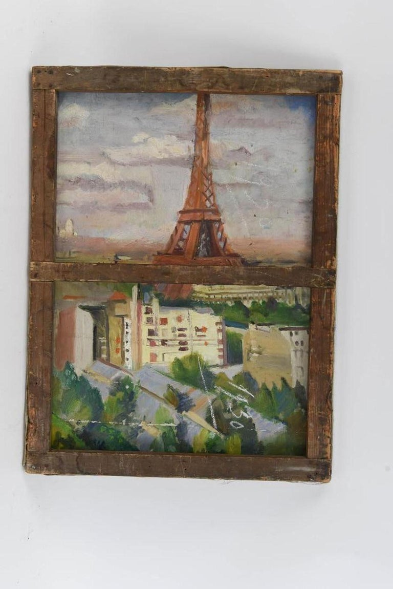 20th Century French Impressionist Oil-on-Canvas Painting For Sale