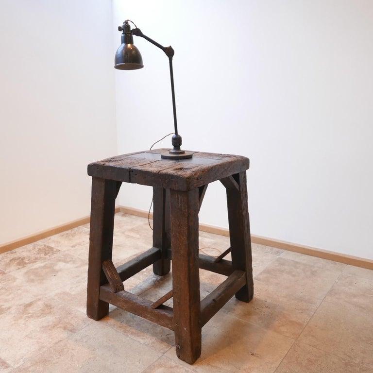 French Industrial Bernard-Albin Gras Table Lamp For Sale 1