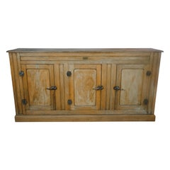 French Industrial Ice Box Cabinet