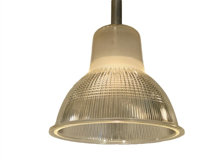 Aluminum French Industrial Pendant Lights For Sale