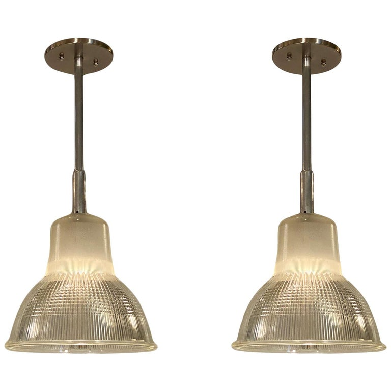 French Industrial Pendant Lights For Sale