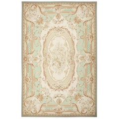 French Inspired Aubusson Modern Carpet