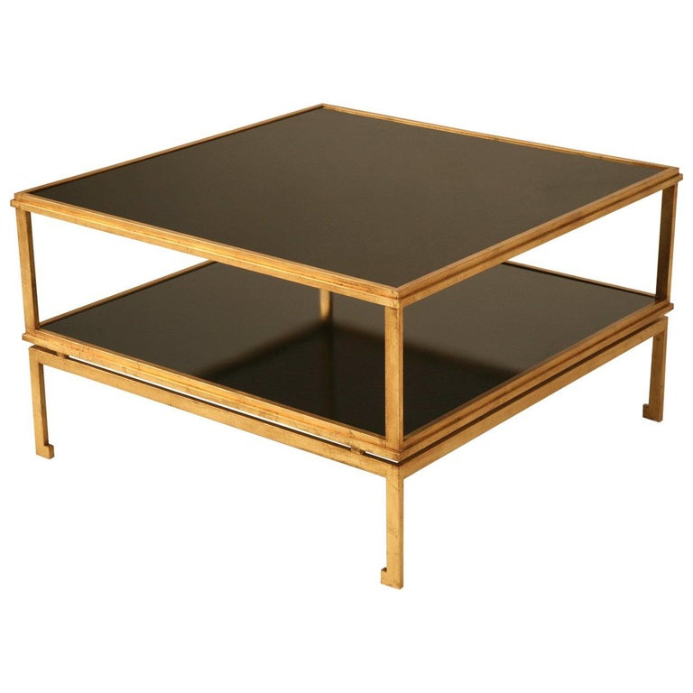 French Inspired Mid-Century Modern Coffee Table For Sale