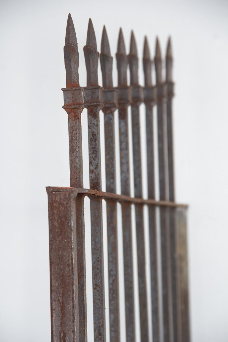 French Iron Gate, 20th Century For Sale 6