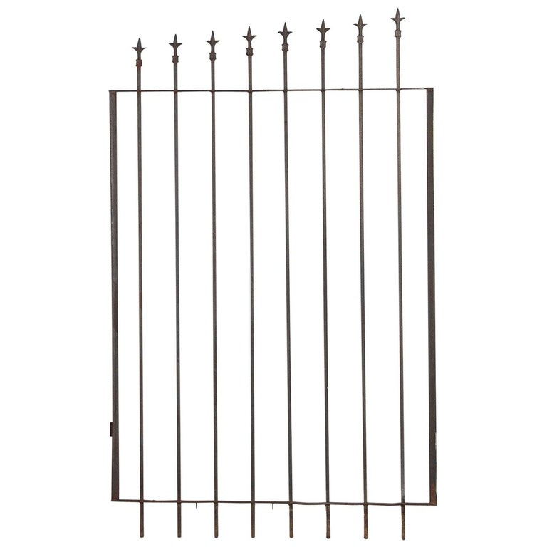 French Iron Gate, 20th Century For Sale
