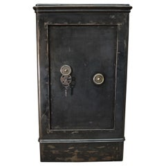 French Iron Safe from Le Vimeu, circa 1920