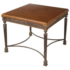 French Iron Table