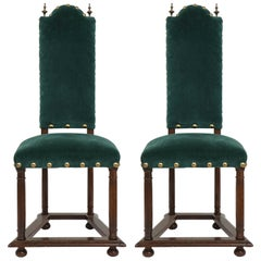 French Jacobean Side Chairs