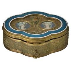 French Jewelry Box, 19th Century
