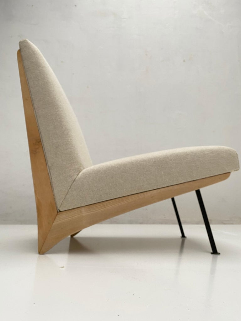 French 'Kangourou' Lounge Chair, 1950 In Good Condition In bergen op zoom, NL