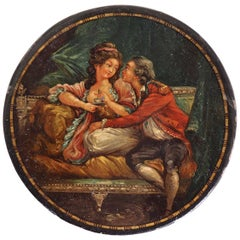 French Lacquer Box, circa 1780