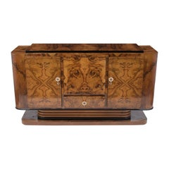 French Lacquered Art Deco Buffet