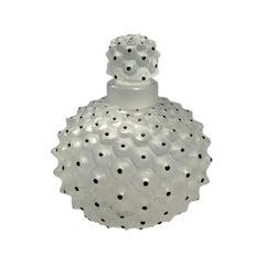 French Lalique Cactus Perfume Bottle