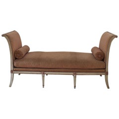 French Late 18th Century Directoire Daybed/ Banquette