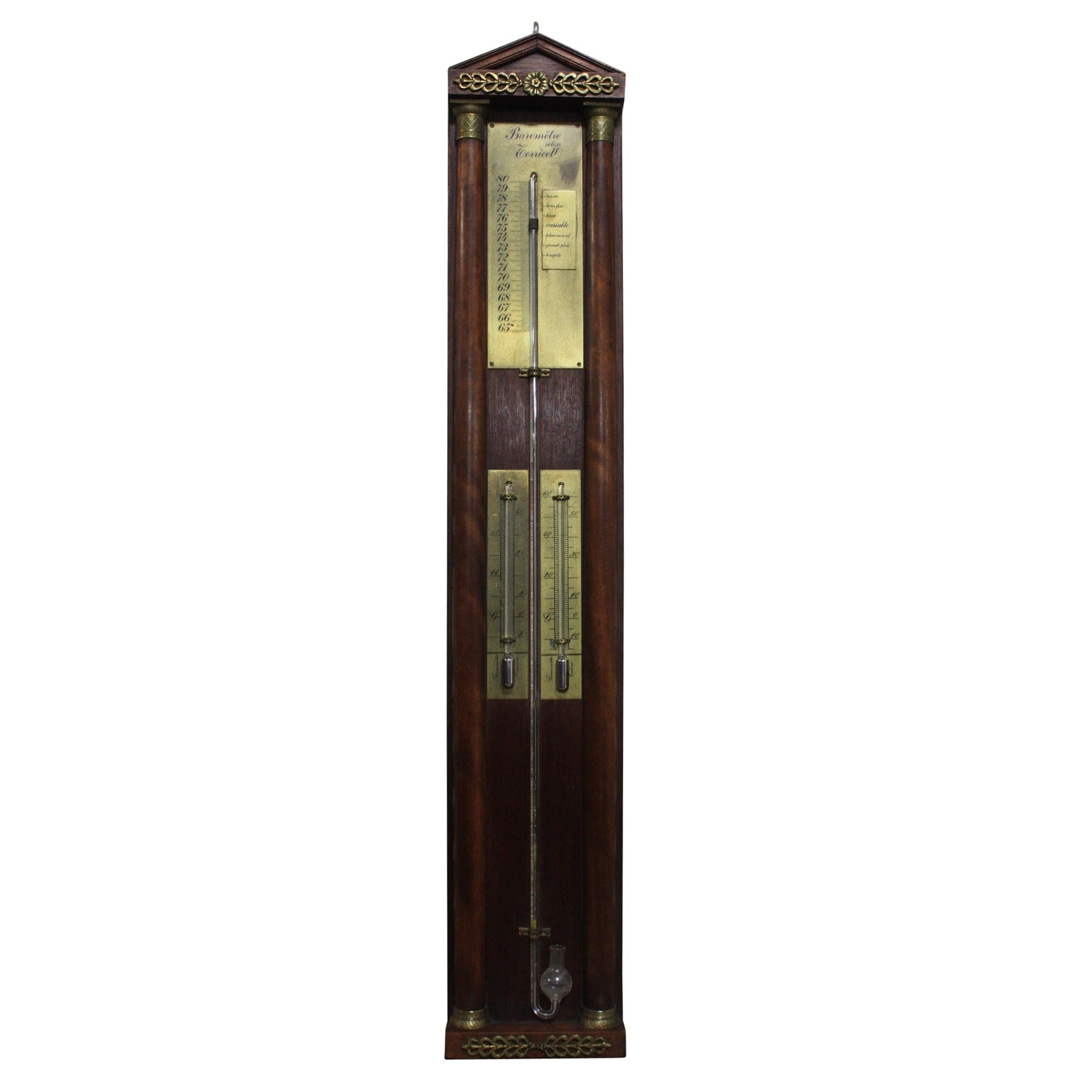 French Late 19th Century Barometer