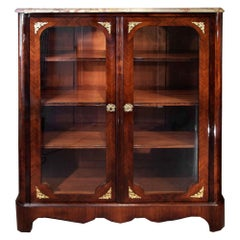 French Late 19th Century Louis XIV Style Mounted Two-Door Vitrine