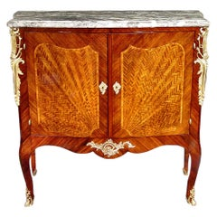 French Late 19th Century Louis XV Style Cabinet