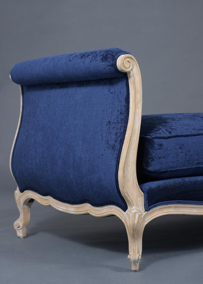 Upholstery French Late 19th Century Louis XV Style Daybed For Sale